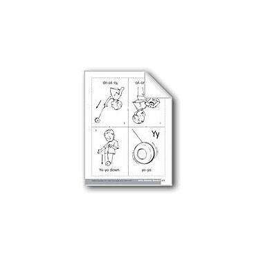 Evan-Moor Educational Publishers Little Alphabet Reader: Yy Yo-Yo Language Arts Workbook, Preschool - Kindergarten [eBook]
