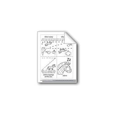 Evan-Moor Educational Publishers Little Alphabet Reader: Zz Zebra Language Arts Workbook, Preschool - Kindergarten [eBook]