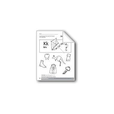 Evan-Moor Educational Publishers Beginning and Ending Sounds of /K/ Language Arts Workbook, Kindergarten - Grade 1 [eBook]
