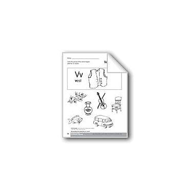 Evan-Moor Educational Publishers Beginning and Ending Sounds of /V/ Language Arts Workbook, Kindergarten - Grade 1 [eBook]