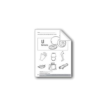 Evan-Moor Educational Publishers Beginning and Ending Sounds of /L/ Language Arts Workbook, Kindergarten - Grade 1 [eBook]