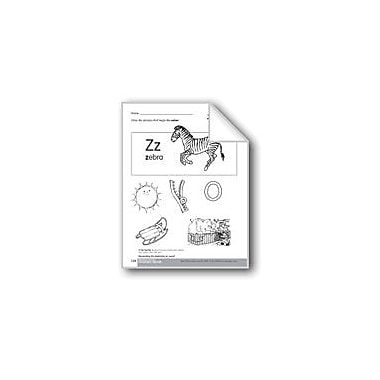 Evan-Moor Educational Publishers Beginning and Ending Sounds of /Z/ Language Arts Workbook, Kindergarten - Grade 1 [eBook]