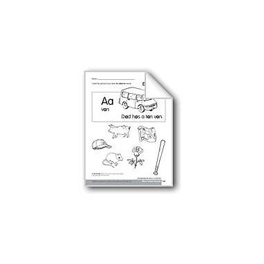 Evan-Moor Educational Publishers Short Vowel Sounds /A/ Language Arts Workbook, Kindergarten - Grade 1 [eBook]