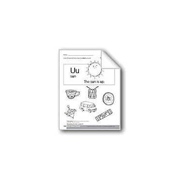 Evan-Moor Educational Publishers Short Vowel Sounds /U/ Language Arts Workbook, Kindergarten - Grade 1 [eBook]