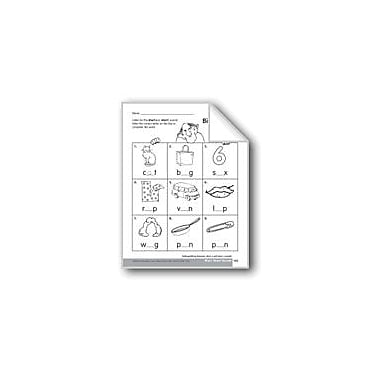 Evan-Moor Educational Publishers Select the Correct Short Vowel Sound Language Arts Workbook, Kindergarten - Grade 1 [eBook]