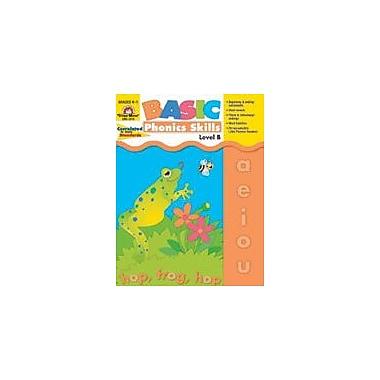 Evan-Moor Educational Publishers Basic Phonics Skills, Level B, Grades K,1 Workbook, Kindergarten - Grade 1 [Enhanced eBook]