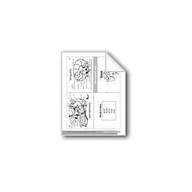 Evan-Moor Educational Publishers Goat (Word Family Reader) Language Arts Workbook, Grade 1 - Grade 2 [eBook]