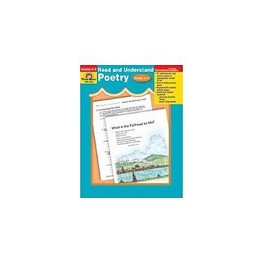 Evan-Moor Educational Publishers Read and Understand Poetry-5 Language Arts Workbook, Grade 4 - Grade 5 [Enhanced eBook]