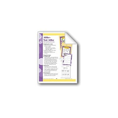 Evan-Moor Educational Publishers Alike-Not Alike (Letter Recognition) Workbook, Preschool - Kindergarten [eBook]