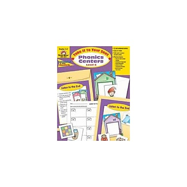 Evan-Moor Educational Publishers Take It to Your Seat Phonics Centers, Level C,2 Workbook, Grade 1 - Grade 2 [Enhanced eBook]