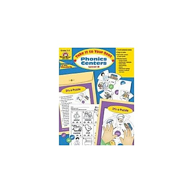 Evan-Moor Educational Publishers Take It to Your Seat Phonics Centers, Level D-3 Workbook, Grade 2 - Grade 3 [Enhanced eBook]