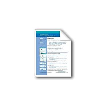 Evan-Moor Educational Publishers Matches Beginning Sound and Letter (Assessment) Language Arts Workbook, Preschool [eBook]
