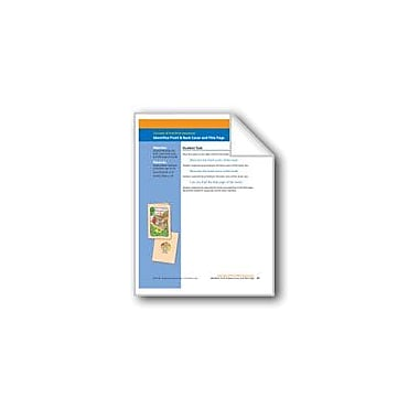 Evan-Moor Educational Publishers Identifies Front/Back Cover and Title Page (Assessment) Workbook, Kindergarten [eBook]