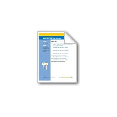Evan-Moor Educational Publishers Matches Short Vowel Sound to the Letter (Assessment) Workbook, Kindergarten [eBook]