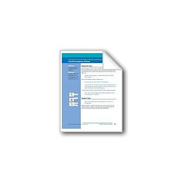 Evan-Moor Educational Publishers Classifies Categories of Words (Assessment) Language Arts Workbook, Grade 1 [eBook]