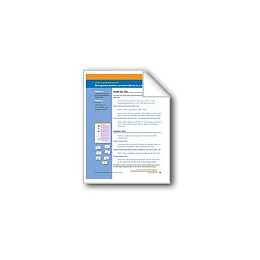 Evan-Moor Educational Publishers Distinguishes Between Consonant Blends: Bl, Cl, Fl, Gl, Pl, Sl (Assessment) Workbook [eBook]