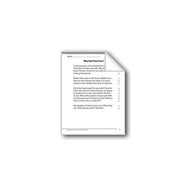 Evan-Moor Educational Publishers Fluency Assessment Language Arts Workbook, Grade 1 [eBook]