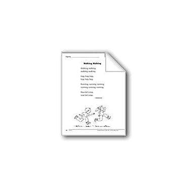 Evan-Moor Educational Publishers Walking, Walking (A Poem) Language Arts Workbook, Grade 1 [eBook]