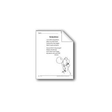 Evan-Moor Educational Publishers My Big Balloon (A Poem) Language Arts Workbook, Grade 1 [eBook]