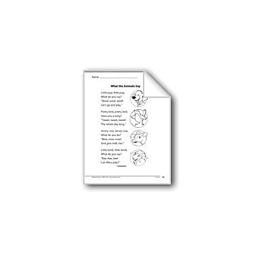 Evan-Moor Educational Publishers What the Animals Say (A Poem) Language Arts Workbook, Grade 1 [eBook]
