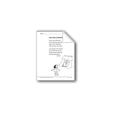 Evan-Moor Educational Publishers Once I Saw A Little Bird (A Poem) Language Arts Workbook, Grade 1 [eBook]