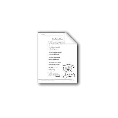 Evan-Moor Educational Publishers Five Furry Kittens (A Poem) Language Arts Workbook, Grade 1 [eBook]