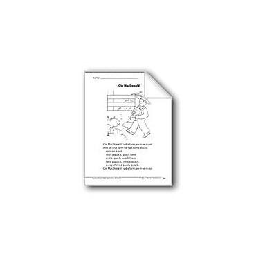 Evan-Moor Educational Publishers Old Macdonald (A Song) Language Arts Workbook, Grade 1 [eBook]