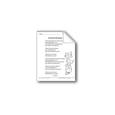 Evan-Moor Educational Publishers The Three Little Kittens (A Rhyme) Language Arts Workbook, Grade 1 [eBook]