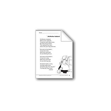Evan-Moor Educational Publishers Old Mother Hubbard (A Rhyme) Language Arts Workbook, Grade 1 [eBook]