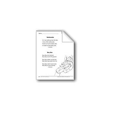 Evan-Moor Educational Publishers Rattlesnake/Boa, Boa (Two Rhymes) Language Arts Workbook, Grade 1 [eBook]