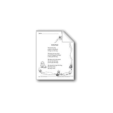 Evan-Moor Educational Publishers At the Pond (A Fiction Story) Language Arts Workbook, Grade 1 [eBook]
