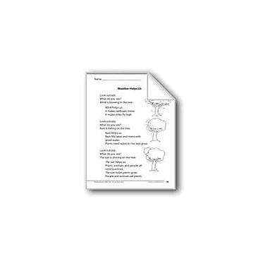 Evan-Moor Educational Publishers Weather Helps Us (A Nonfiction Article) Language Arts Workbook, Grade 1 [eBook]