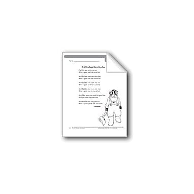 Evan-Moor Educational Publishers If All the Seas Were One Sea (A Poem) Language Arts Workbook, Grade 2 [eBook]