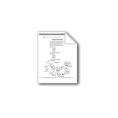 Evan-Moor Educational Publishers Fungle In the Jungle (A Rhyme) Language Arts Workbook, Grade 2 [eBook]
