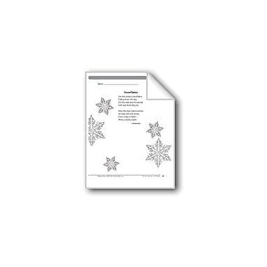 Evan-Moor Educational Publishers Snowflakes (A Poem) Language Arts Workbook, Grade 2 [eBook]