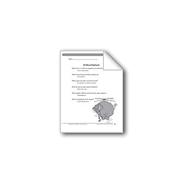 Evan-Moor Educational Publishers All About Elephants (6 Riddles) Language Arts Workbook, Grade 2 [eBook]