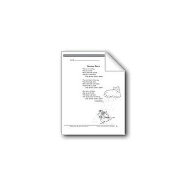 Evan-Moor Educational Publishers Summer Storm (A Poem) Language Arts Workbook, Grade 3 [eBook]