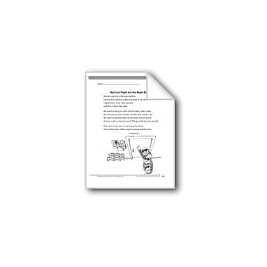 Evan-Moor Educational Publishers Not Last Night But the Night Before (A Nonsense Rhyme) Language Arts Workbook, Grade 3 [eBook]