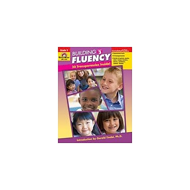 Evan-Moor Educational Publishers Building Fluency Language Arts Workbook, Grade 3 [Enhanced eBook]