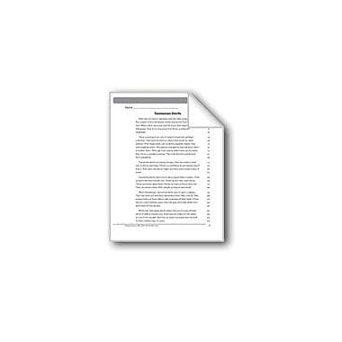 Evan-Moor Educational Publishers Fluency Assessment Language Arts Workbook, Grade 4 [eBook]