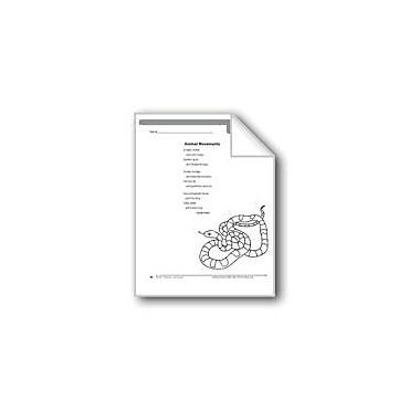 Evan-Moor Educational Publishers Animal Movements (A Poem) Language Arts Workbook, Grade 4 [eBook]