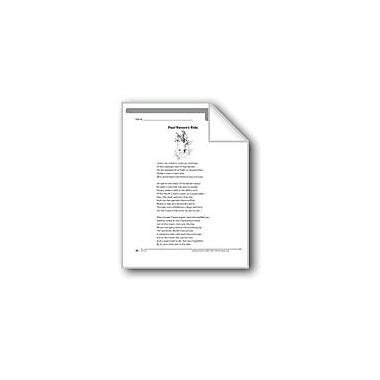 Evan-Moor Educational Publishers Paul Revere's Ride (A Poem) Language Arts Workbook, Grade 5 [eBook]