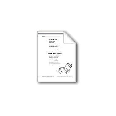 Evan-Moor Educational Publishers Little Miss Tuckett/Twinkle, Twinkle, Little Bat (2 Rhymes) Workbook, Grade 5 [eBook]