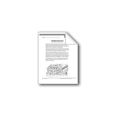 Evan-Moor Educational Publishers The White House Burns (A Newspaper Article) Language Arts Workbook, Grade 5 [eBook]