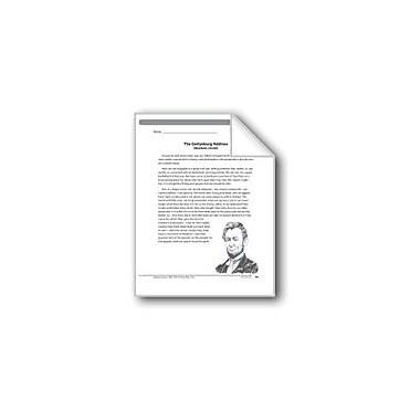 Evan-Moor Educational Publishers The Gettysburg Address (A Speech) Language Arts Workbook, Grade 5 [eBook]
