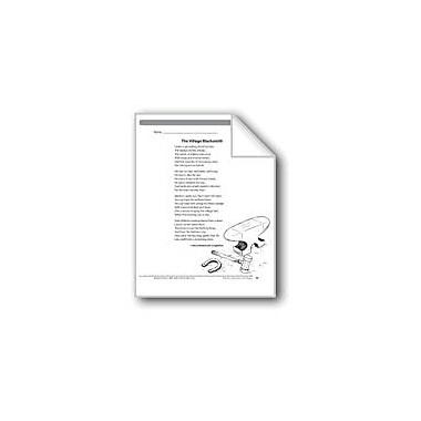 Evan-Moor Educational Publishers The Village Blacksmith (Poem) Language Arts Workbook, Grade 6 [eBook]