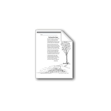Evan-Moor Educational Publishers The Road Not Taken (A Poem) Language Arts Workbook, Grade 6 [eBook]