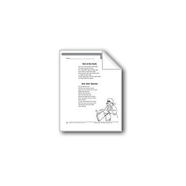 Evan-Moor Educational Publishers Not In the Dark (2 Tongue Twisters) Language Arts Workbook, Grade 6 [eBook]