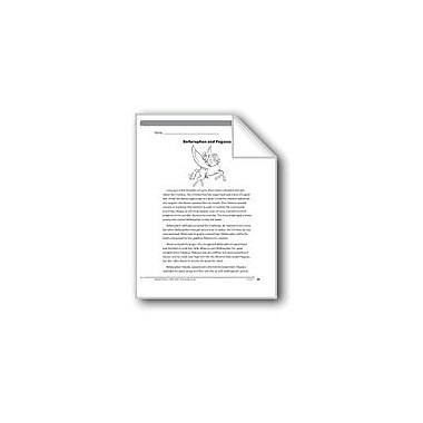 Evan-Moor Educational Publishers Bellerophon and Pegasus (A Myth) Language Arts Workbook, Grade 6 [eBook]