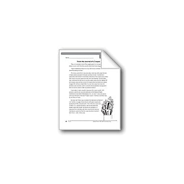 Evan-Moor Educational Publishers From the Journal of A Crayon (Fantasy Fiction) Language Arts Workbook, Grade 6 [eBook]